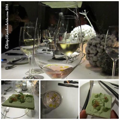 ©Ceviche und Avocadobrot mit Salzwassergarnelen