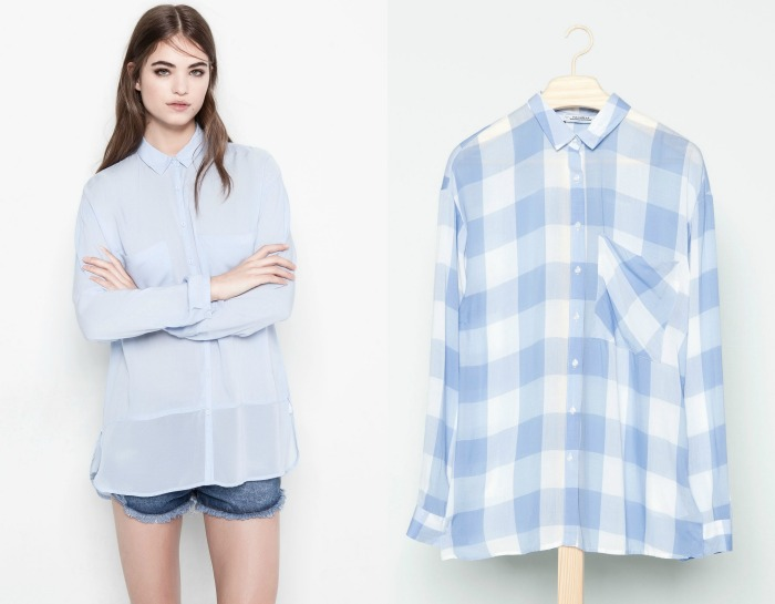 camisas pull and bear