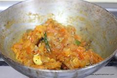 Onion tomato mixture