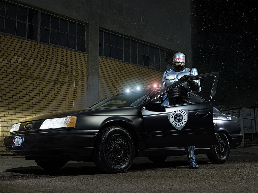 Douglas Sonders' Robocop Retouching Contest