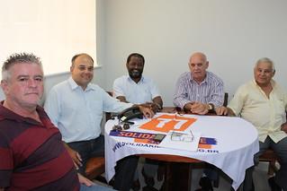 Sandoval Fernandes, Osvaldo Aranha, Paulo Renato Manoel, Gilberto Vicente e Carlos Roberto Mota