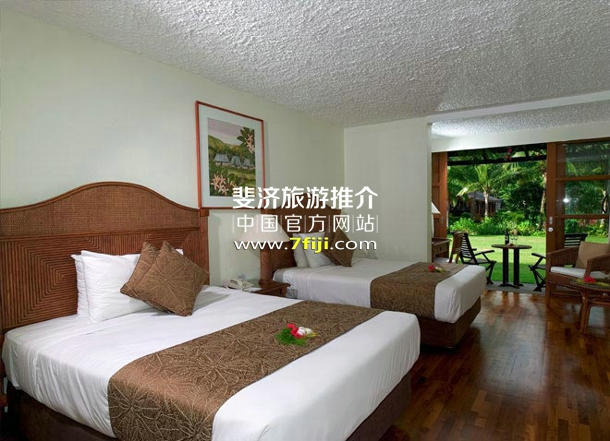 斐济沃里克度假村(Warwick Fiji Resort & Spa)客房别墅