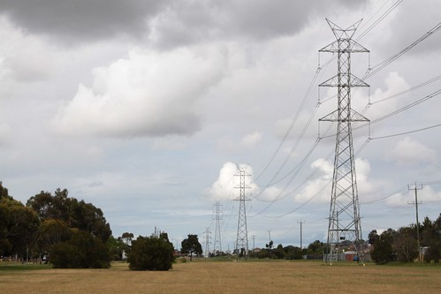 SECV transmissions lines between the Keilor and Altona terminal stations