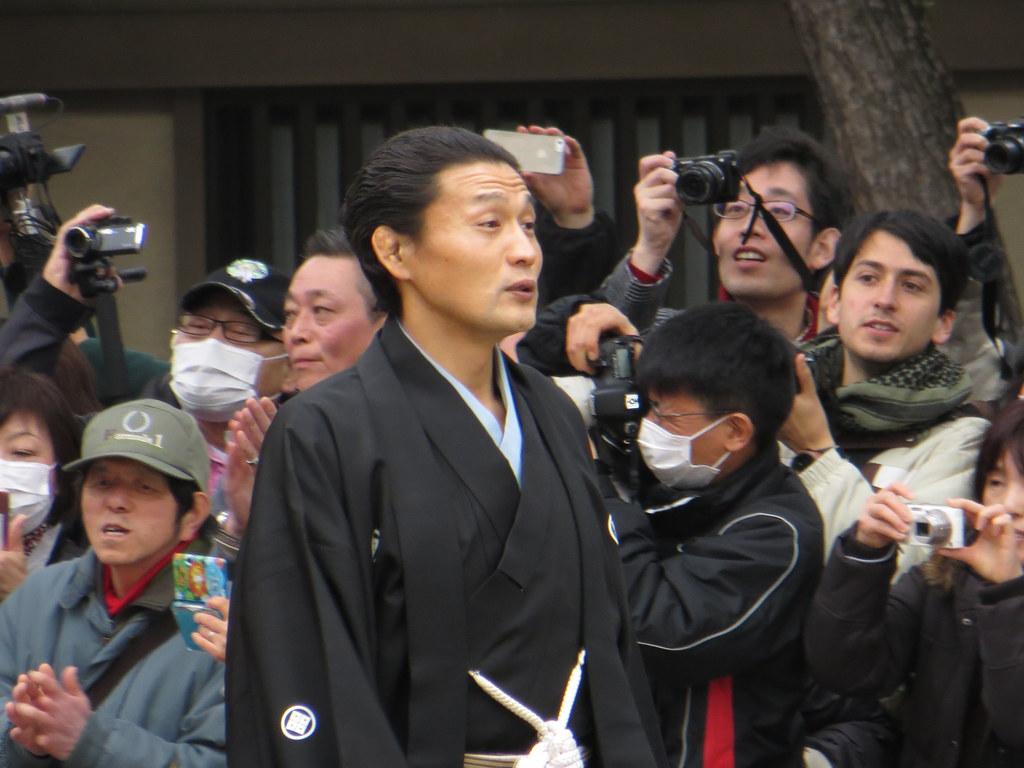 貴乃花親方 / Takanohana - Sumiyoshi Taisha, Osaka