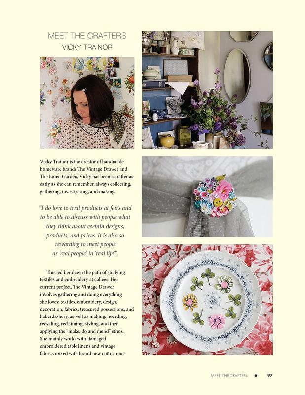 Meet the Crafter- Vicky Trainor