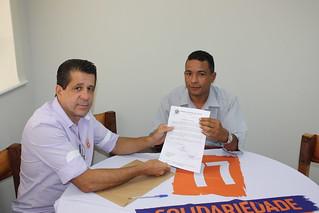 Aparicio da Rocha, vereador em Cajati, faz reunião no Solidariedade-SP