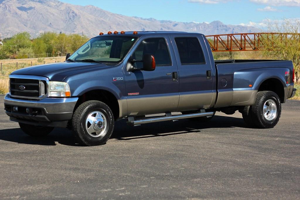 2004 ford f350 lariat 4x4 diesel truck for sale. Black Bedroom Furniture Sets. Home Design Ideas