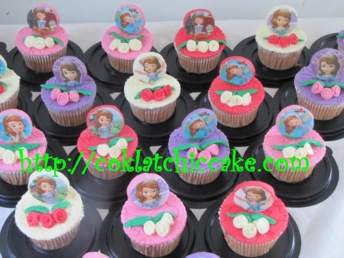 Cupcake sofia the first – Keyza Kamilah Husein