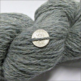 Denim handspun, close up