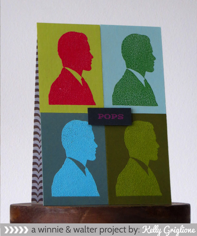 Kelly_Pop Art Andy Warhol Card for Fathers Day