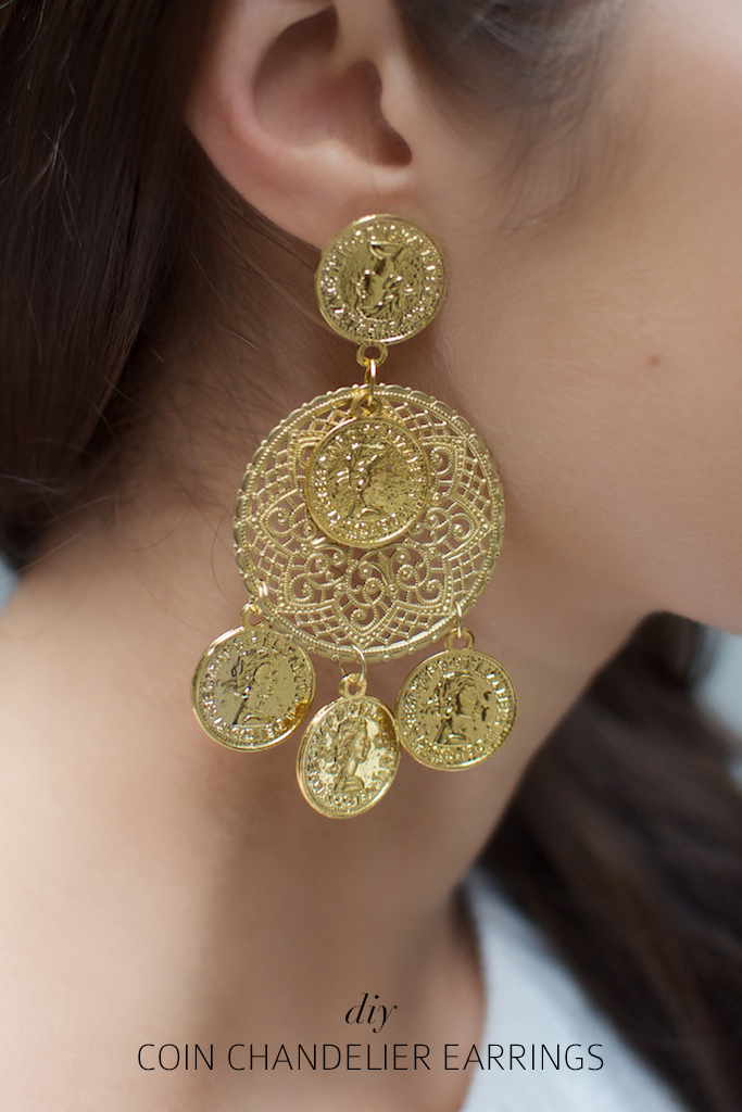 in earrings lyst normal gabbana dolce and orange product jewelry drop multi