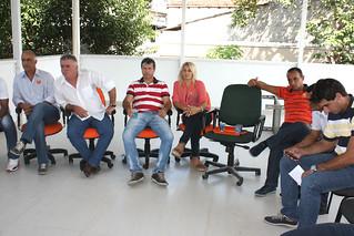 Marquinhos, Sandoval, Ronaldo, Gil, Fabinho Pereira e Juninho