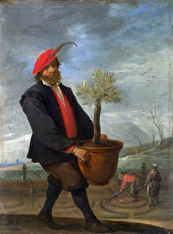 David Teniers the Younger - Spring (c.1644)