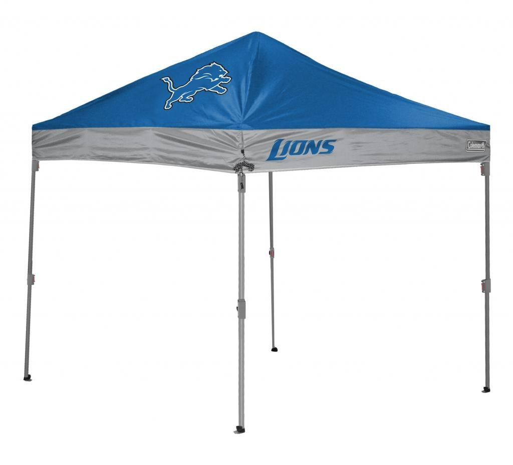 Detroit Lions TailGate Canopy/Tent  sc 1 st  Tailgatorz & Detroit Lions Tailgate Canopy/Tent Easy Up Shelter Design for ...