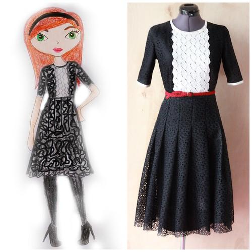 fashion design via Kristina j blog
