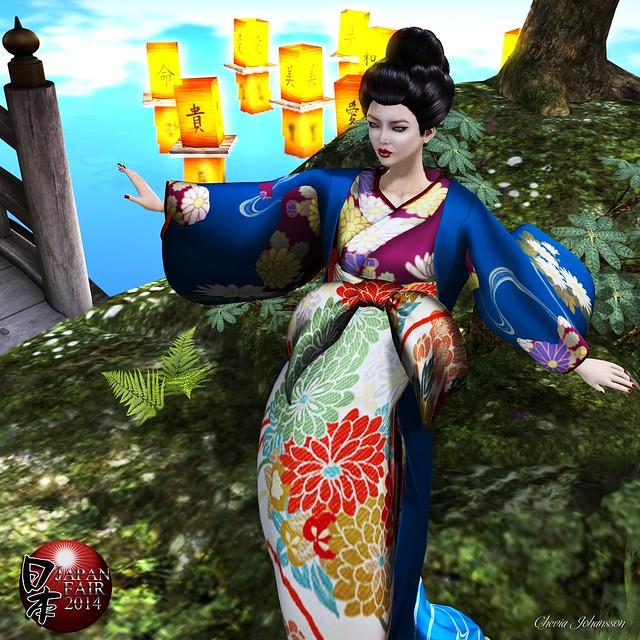 LAKSHMI Oiran-Tamagiku Kimono