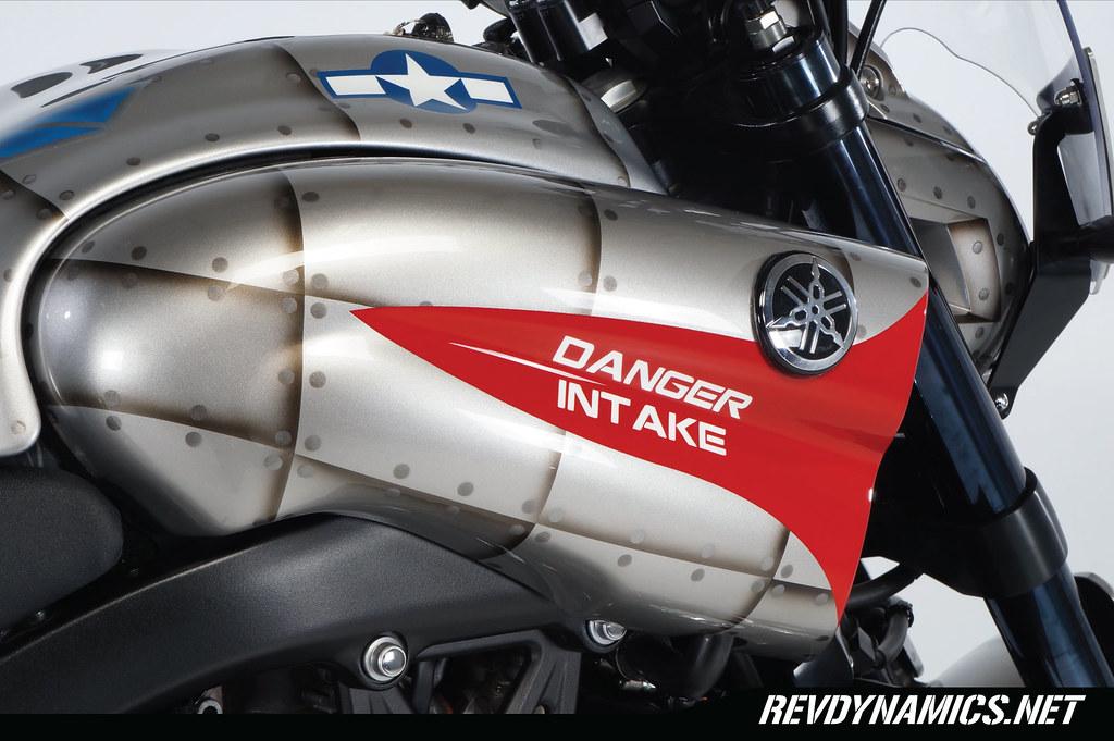 Yamaha Vision Custom Fuel Tank