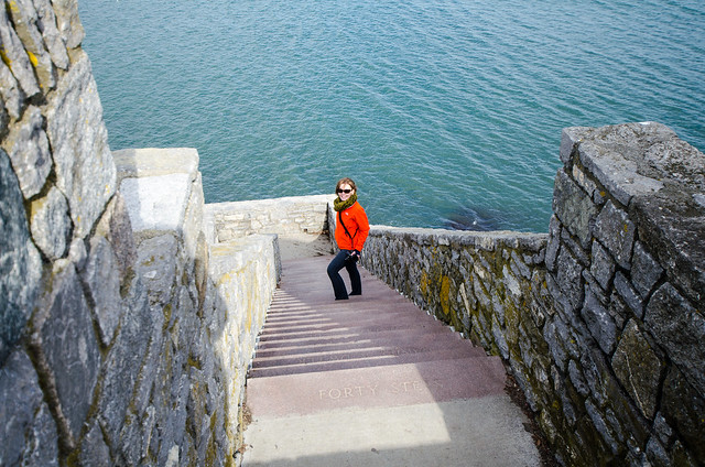 Melissa on the Cliff Walk - Newport, RI
