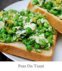 Peas On Toast