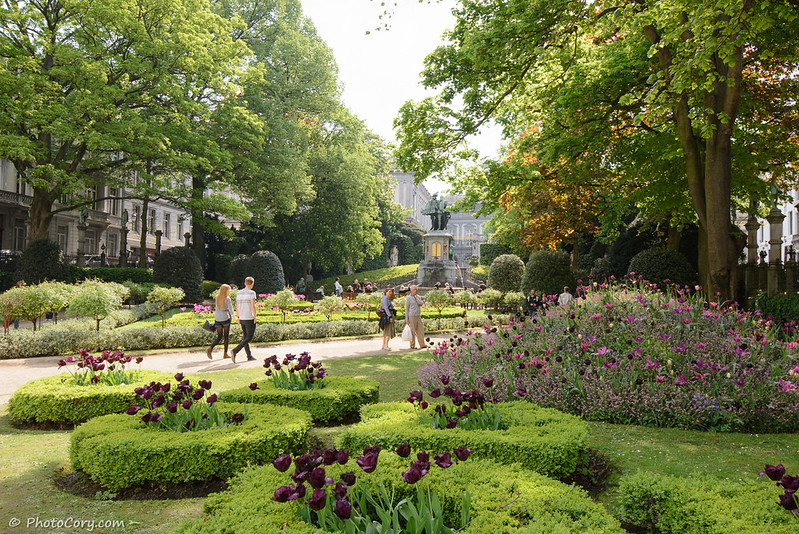 Sablon Park in Brussels
