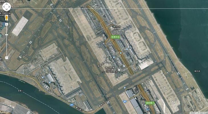 現代の羽田空港