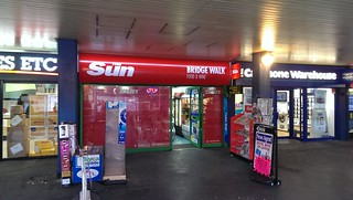 Rebranded Newsagents - London Bridge