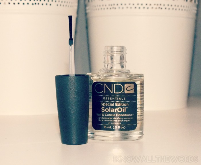 CND Special Edition Solar Oil (2)