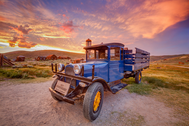 1927 Dodge Graham at Sunset
