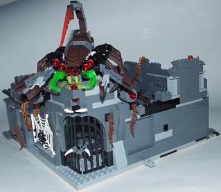 LEGO Chima MOC - Scorpion Palace Ruins 1