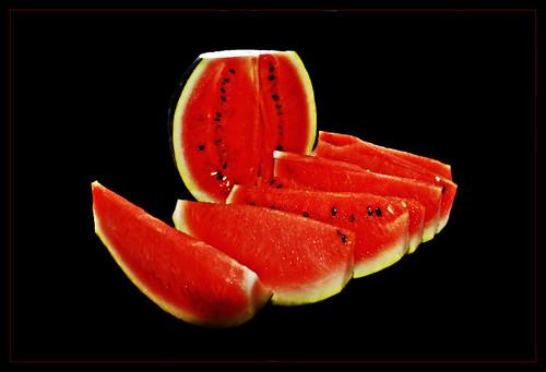 Delicious watermelon.
