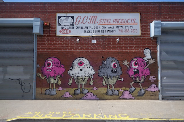 Brooklyn street art The Bushwick Collective Buff Monster