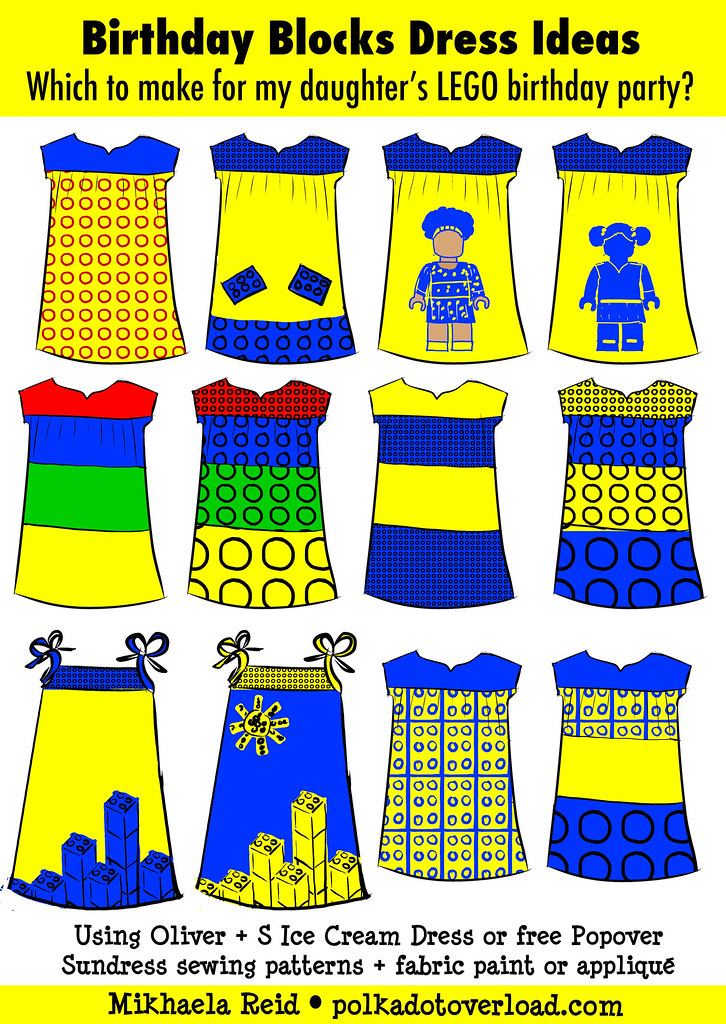 Can't Decide: Lego Dress Ideas for My Daughter's 4th Birthday Party