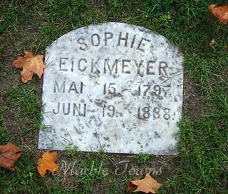 Wildwood Cemetery-Sheboygan-Eickmeyer-Sophie