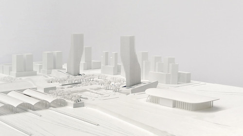 spatial practice - Harbin Twin Towers