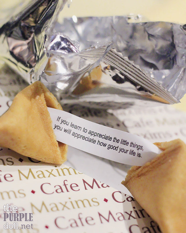 Fortune Cookie at Resorts World Manila