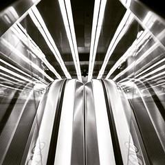 Triangeln Station Escalator