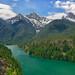 Thunder Arm of Diablo Lake by Philip Kuntz