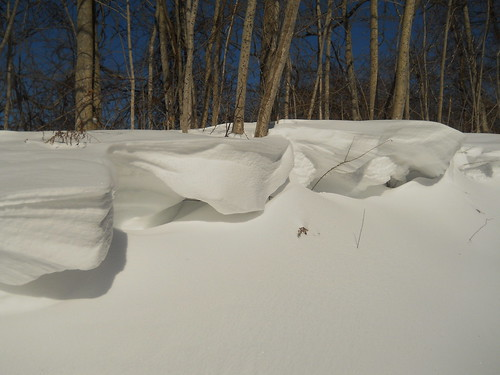 snow cliffs