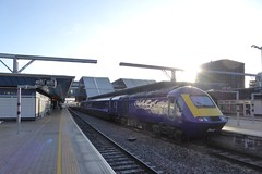 First Great Western HST train at Reading