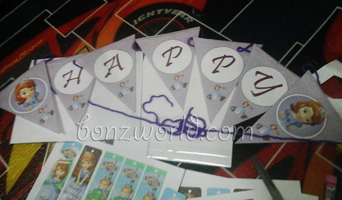 DIY Sofia the First banner02