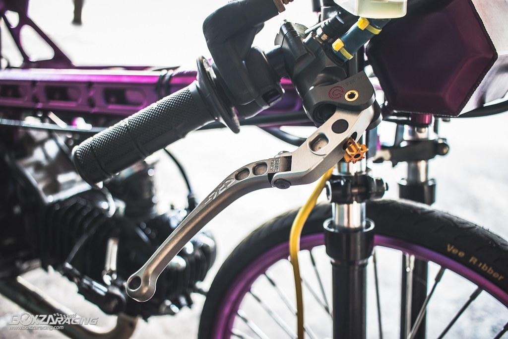 Wave Drag độ màu tím khủng khiếp với Piston 78mm (Thái) - 7