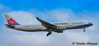 China Airlines Airbus A330-302 B-18359