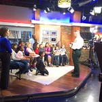 April 5, 2016 - 16:44 - Mecklenburg County Sheriff Irwin Carmichael talking to parents and their kids about gun safety as part of a segment on a local TV station in Charlotte, NC. 
