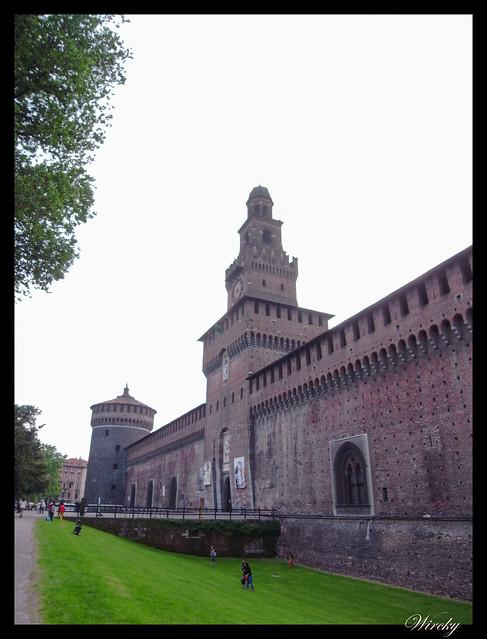 Por qué viajar a Milán - Castello Sforzesco