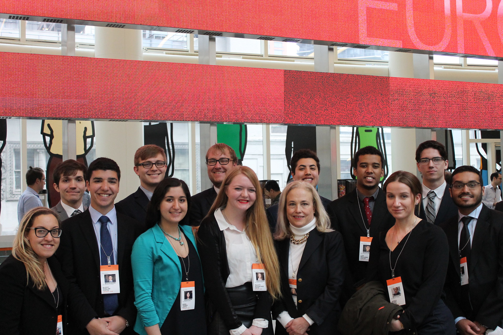 Bloomberg Headquarters Company Visit
