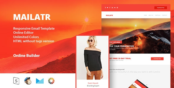 Mailart v1.0 – Responsive Email Template