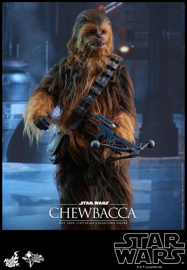Hot Toys – MMS375 – STAR WARS:原力覺醒【丘巴卡】Chewbacca 1/6 比例人偶作品