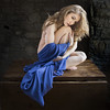Girl With A Blue Cloak