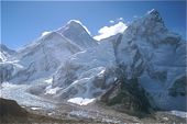 Nepal, Lodge-Trekking, Everest-Basislager. Blick vom Kala Pattar auf Mount Everest, 8848 m. Foto: Archiv Härter.