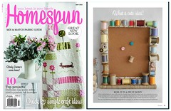Homespun Magazine May 2013